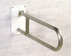Flip Up Safety Rail Grab Bar